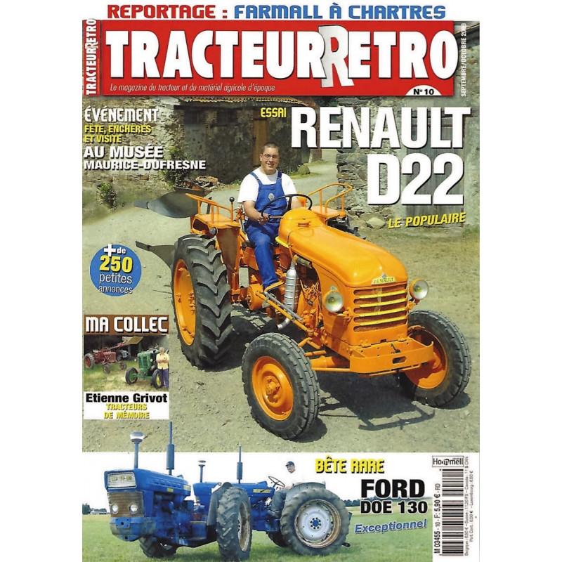 Tracteur Rétro n°10