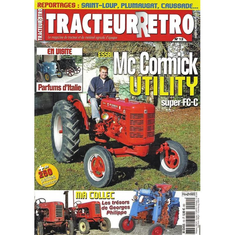 Tracteur Rétro n°12