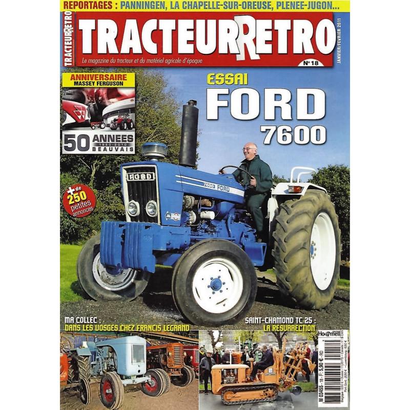 Tracteur Rétro n°18