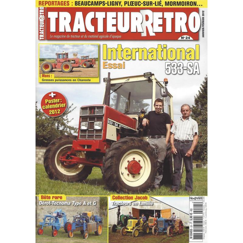 Tracteur Rétro n°24
