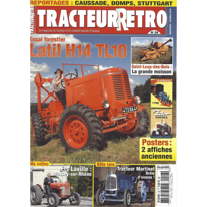 Tracteur Rétro n°28