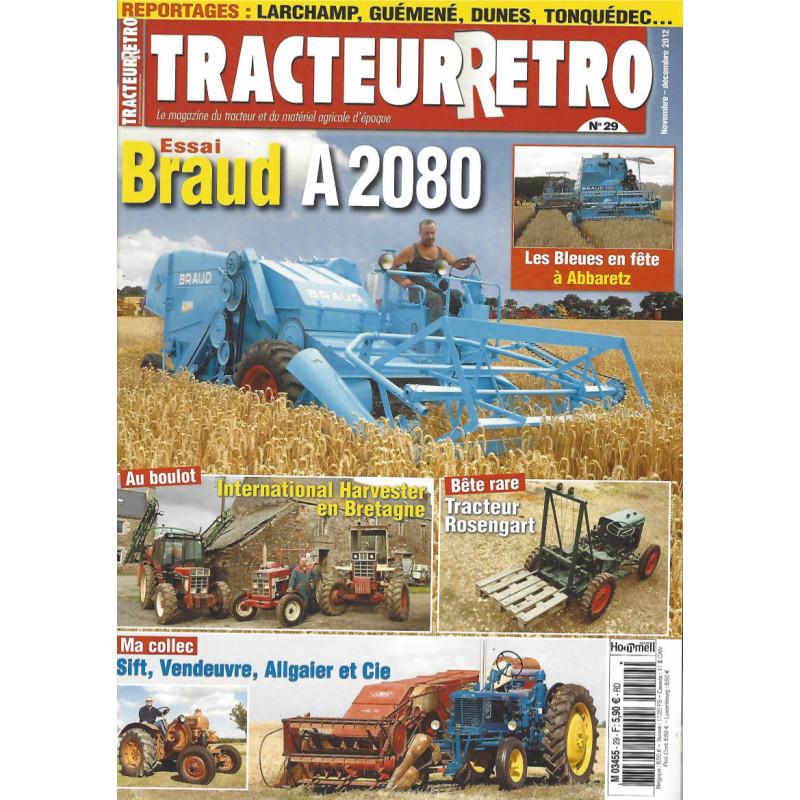 Tracteur Rétro n°29