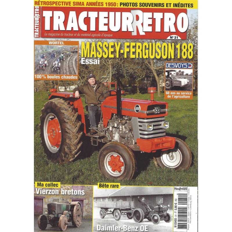 Tracteur Rétro n°31