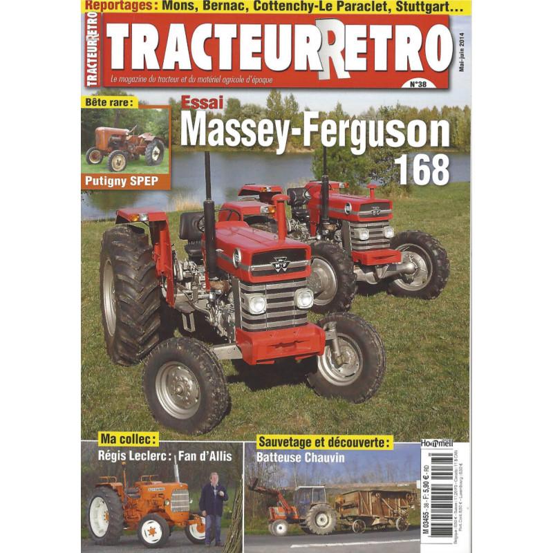 Tracteur Rétro n°38