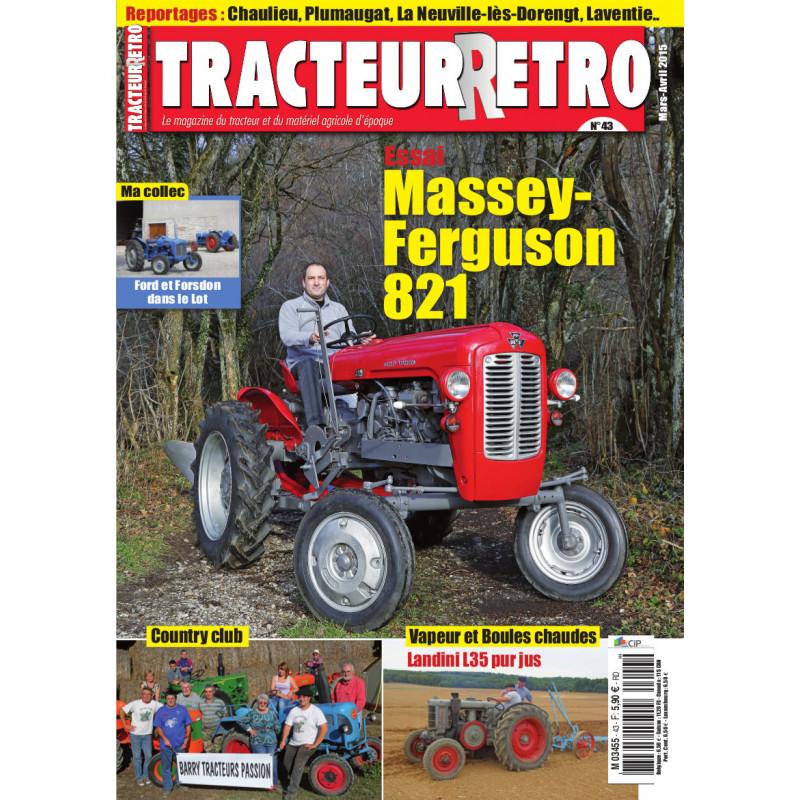 Tracteur Rétro n°43