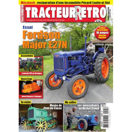 Tracteur Rétro n°45