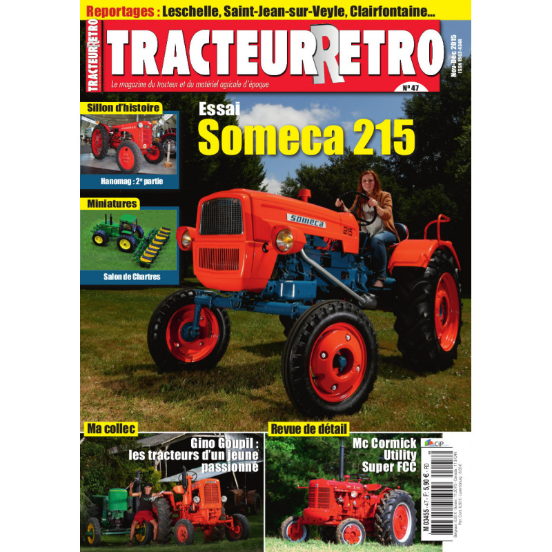 Tracteur Rétro n°47