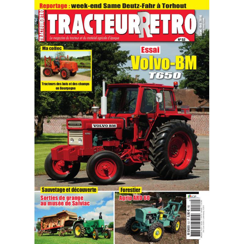 Tracteur Rétro n°52