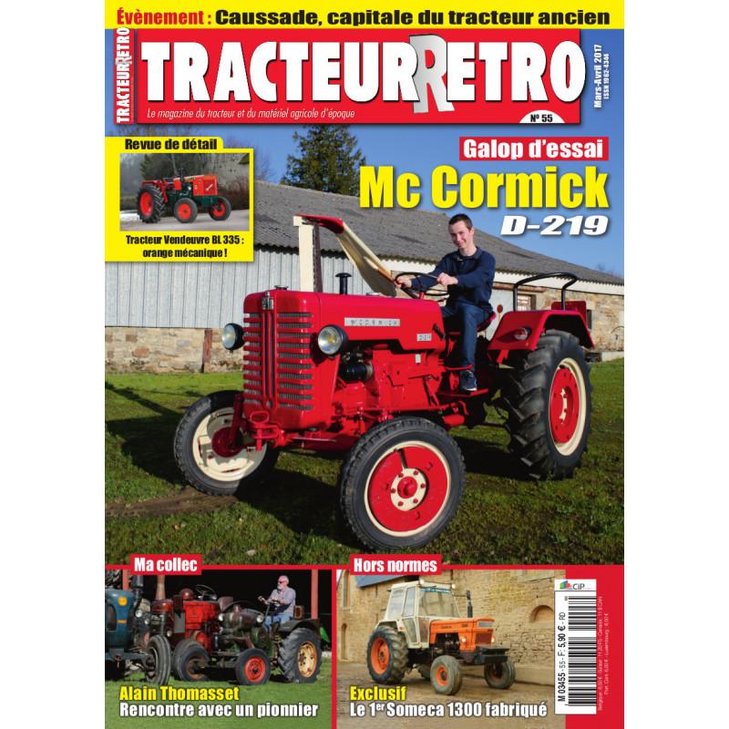 Tracteur Rétro n°55